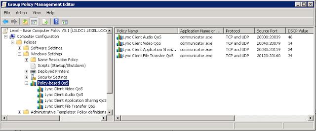 Lync QoS – Compact install Guide | Skype and Teams Blog