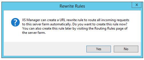 Using the URL Rewrite Module