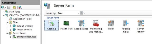 Server Farm Properties