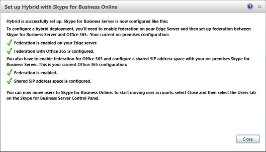 SOLVED Federation with Office 365 is not configured